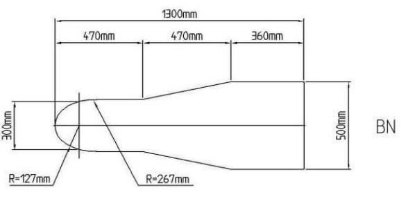 гладильный стол бутылочная форма гладильной поверхности