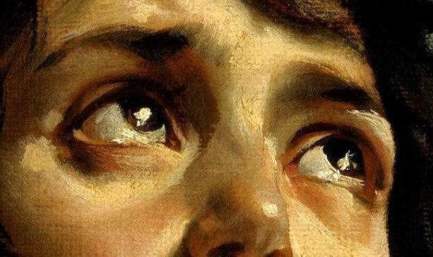 Глаза обречённых людей с полотна Карла Брюллова «Последний день Помпеи», 1833 год