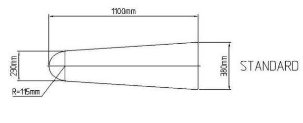гладильный стол универсальная форма гладильной поверхности