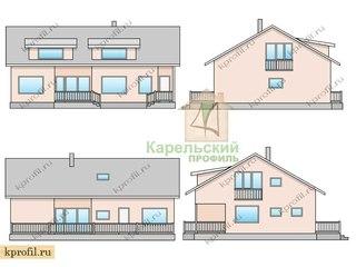 Каркасные дома в СПБ. Финские дома под ключ. | ВКонтакте