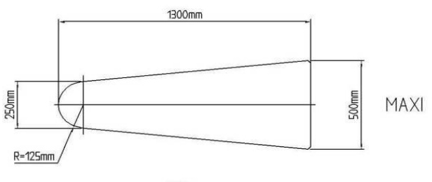 гладильный стол увеличенная форма гладильной поверхности