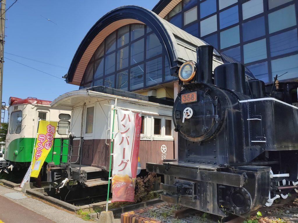 【中津市 汽車ぽっぽ食堂】鉄道ファン必見!!車両をそのまま再利用した食堂&民宿のお店♪