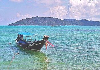 Thailand Reise Longtailboot