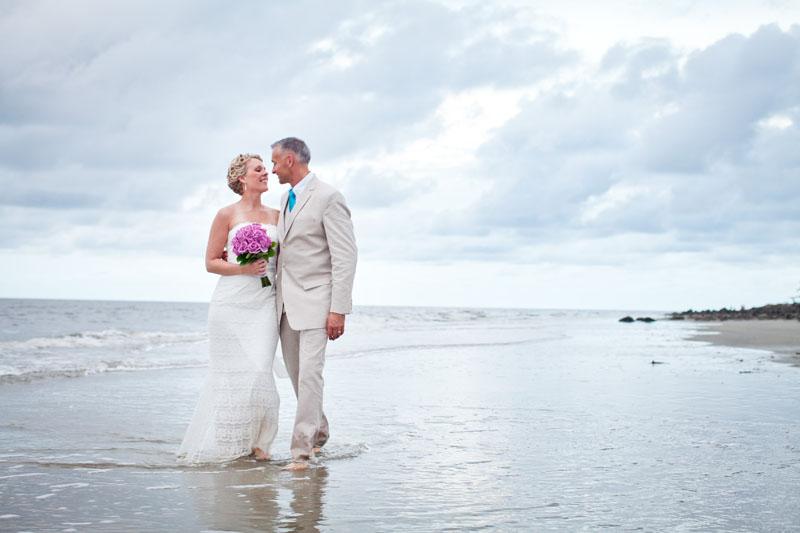 Beach Elopements Sun And Sea Beach Weddings Georgia