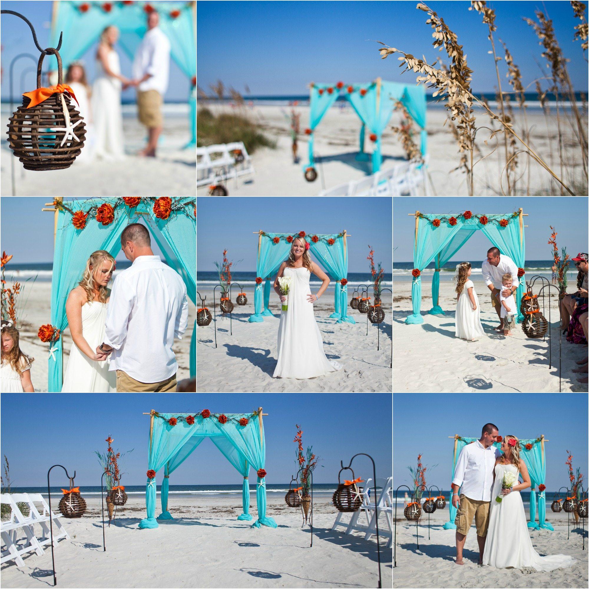 4 Post Bamboo Arbor Sun Amp Sea Beach Weddings