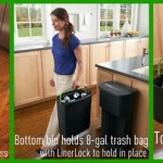 Rubbermaid 2-in-1 Recycler saves planet, saves space