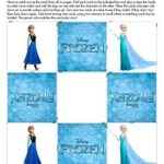 Disney's Frozen movie themed activity pages for kids