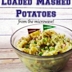 Organic Loaded Mashed Potatoes You Can Make In The Microwave