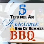 5 Tips For An Awesome End Of Summer Barbecue #MyTargetEssentials