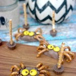Peanut Butter & Chocolate Halloween Spiders: A Frightfully Delicious Treat