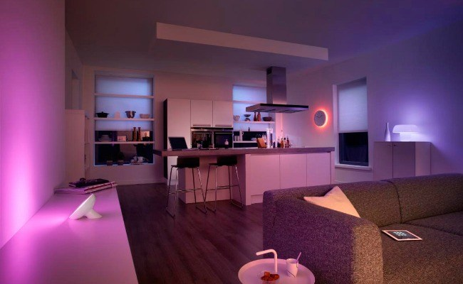 Set The Mood, Celebrate Holidays, Or Get Team Notifications With Philips Hue #BBYConnectedHome