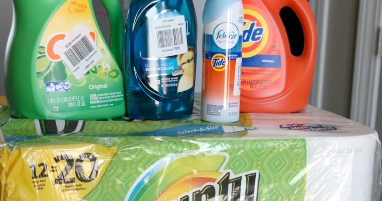 Spring Cleaning: Stock Up And Save On Family Necessities #StockUpSave