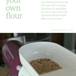 Eat Healthier By Milling Your Own Grain With Mockmill Grain Mill