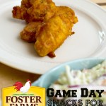 Our Game Day Go-To Quick Snacks: Foster Farms Buffalo Hot Wings