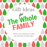 Last Minute Gift Ideas For The Whole Family! #TGGForFamily