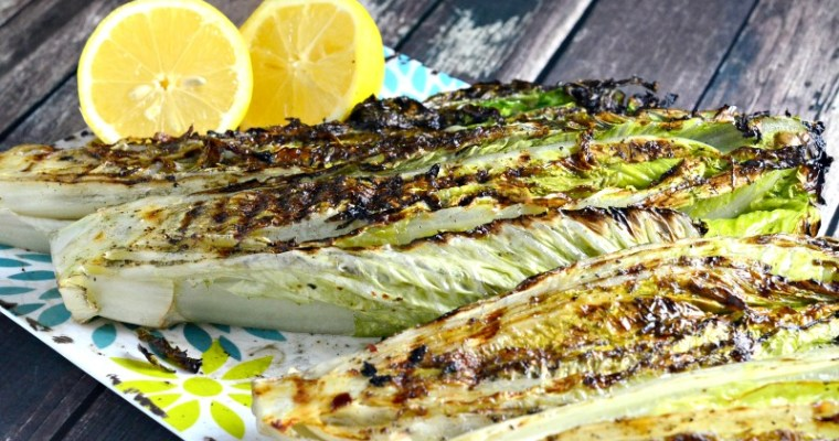 On The Grill: Grilled Romaine Lettuce Recipe Perfect For Summer