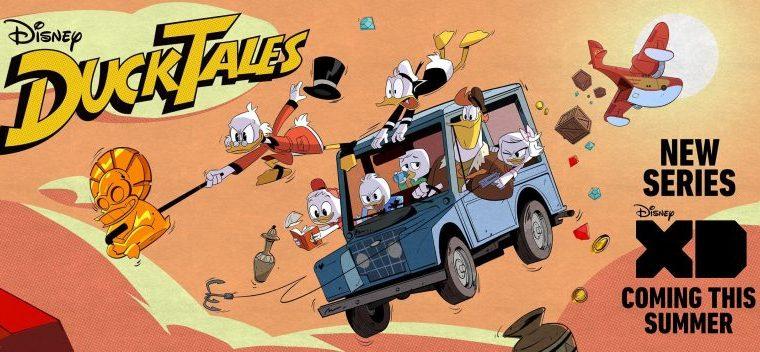 Duck Tales Returns To Disney With David Tennant, Lin-Manuel Miranda