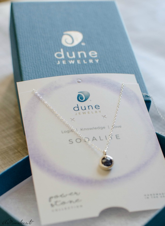 Dune Jewelry Power Stone collection allows you to add some color to their collection with crushed Power Stones.