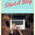 5 Easy Steps: How To Start A Blog That Will Make Money