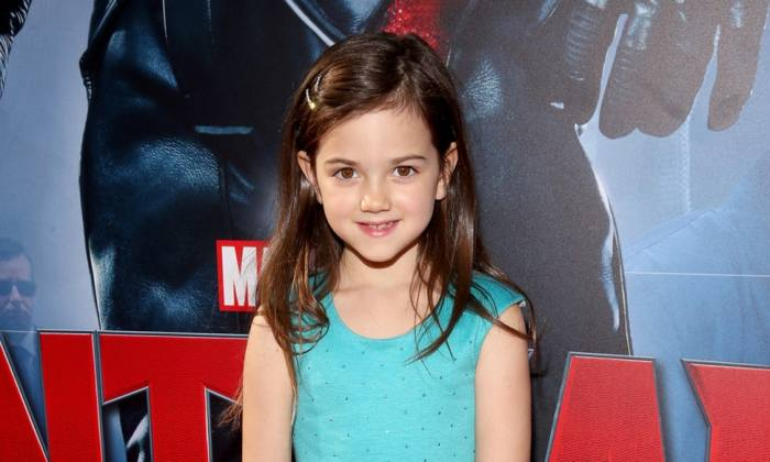 Ant-Man and the Wasp actress Abby Ryder-Fortson at the Ant-Man premiere