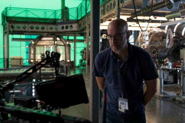 Ant-Man and the Wasp director Peyton Reed on the set