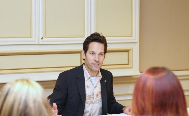 'Ant-Man and the Wasp' Interview With Paul Rudd