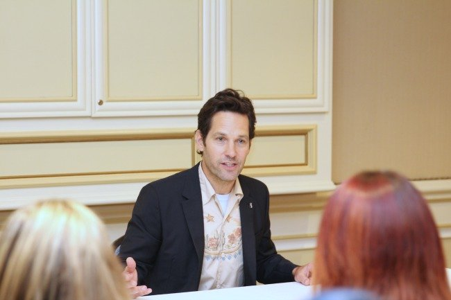Ant-Man and the Wasp star Paul Rudd shares his thought on his co-stars and that BIG mid-credit scene