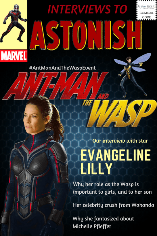 Our exclusive interview with Ant-Man and the Wasp star Evangeline Lilly