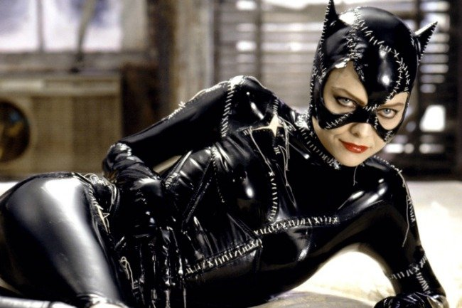 Michelle Pfeiffer as Catwoman in 1992's Batman Returns