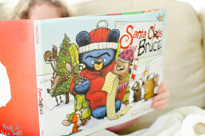 Spend this holiday with Santa Bruce