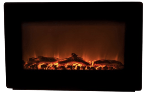 Fire Sense - Wall-Mounted Electric Fireplace