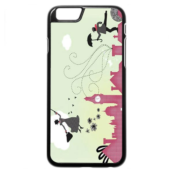 Mary Poppins (skyline cartoon) iPhone 6 / 6s Case