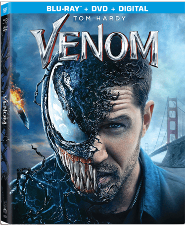 Venom on Blu-ray/DVD combo pack giveaway