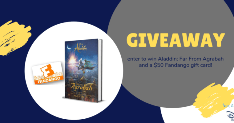 Aladdin: Far From Agrabah – Book & Gift Card Giveaway