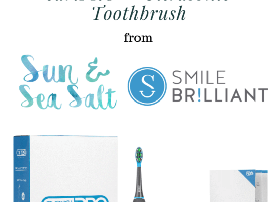Brush With The cariPRO Ultrasonic Toothbrush {Giveaway}