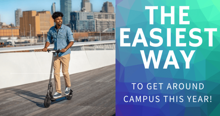 The Easiest Way To Get Around Campus