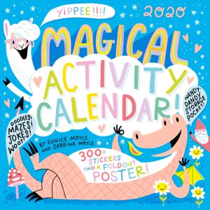 Magical Activity Wall Calendar for Kids