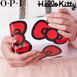 The new OPI x Hello Kitty Nail Polish Collection