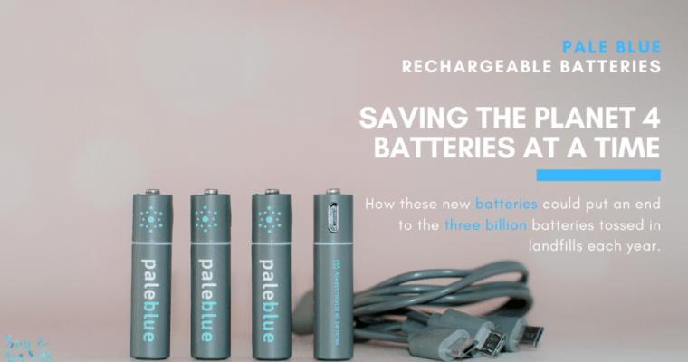 Pale Blue Rechargeable Batteries Are A Green Solution