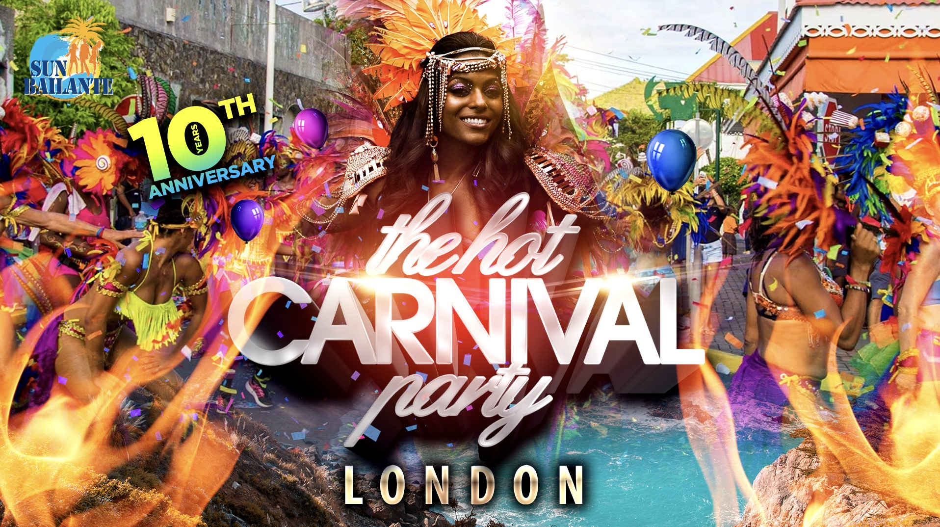 The Hot Carnival Party - Notting Hill Carnival party 2020