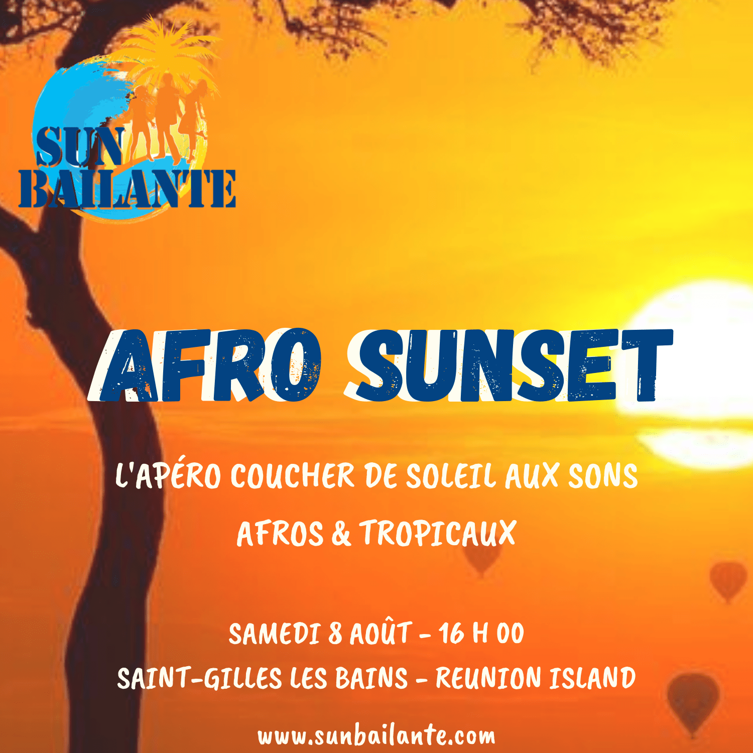 Afro Sunset