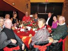 SunBird Bandit golfers enjoyed a night of socializing during the holiday season