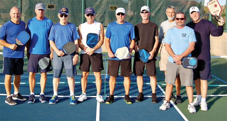 SunBird Men's Pickleball Team