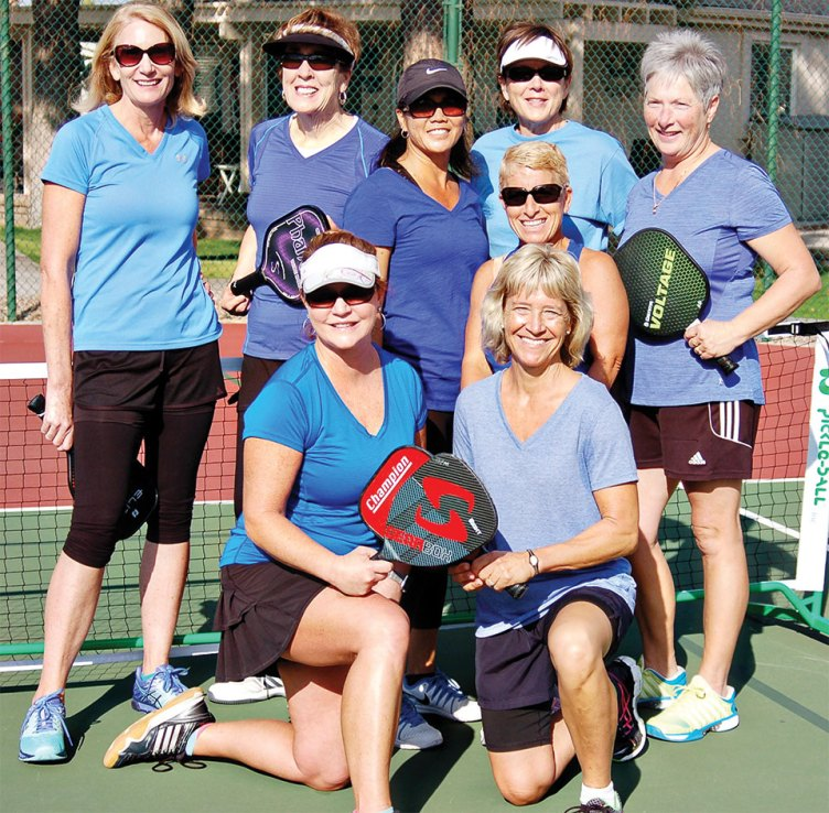 SunBird Women's Pickleball Team