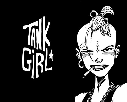 """Tank Girl,"" by Hewlett & Martin"