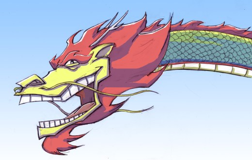laughing dragon
