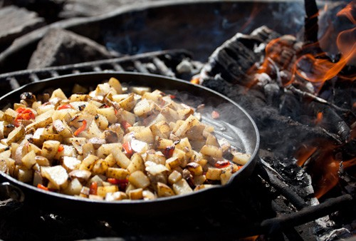 Eating Well While Camping