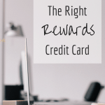 How to Pick the Right Rewards Credit Card via @sunburntsaver