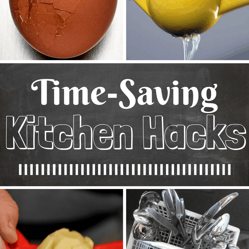 Time-Saving Kitchen Hacks