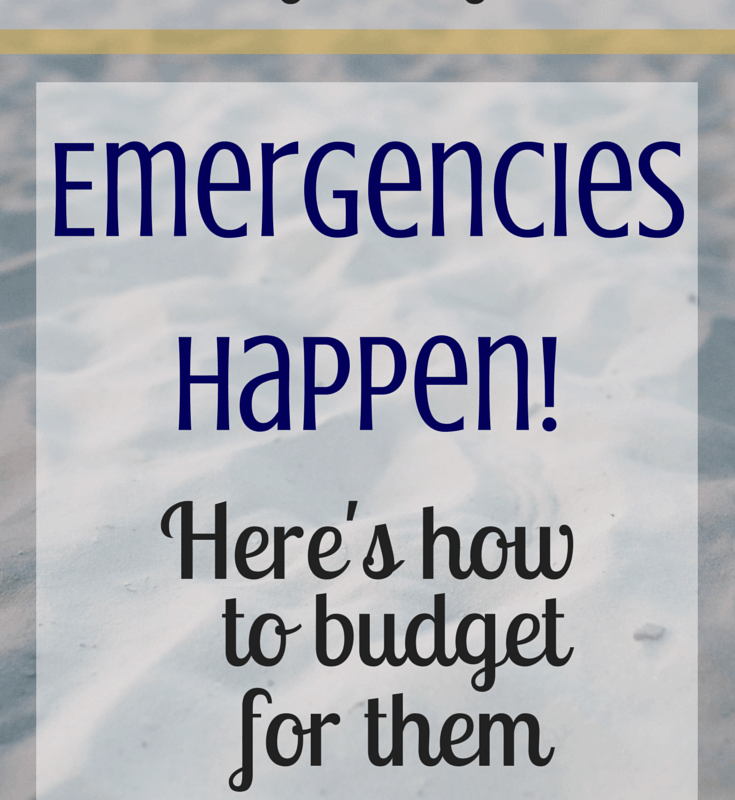 Budgeting for Emergencies